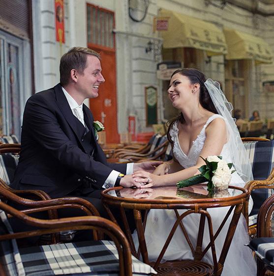 Ana si Lars - nunta, varianta de Romania