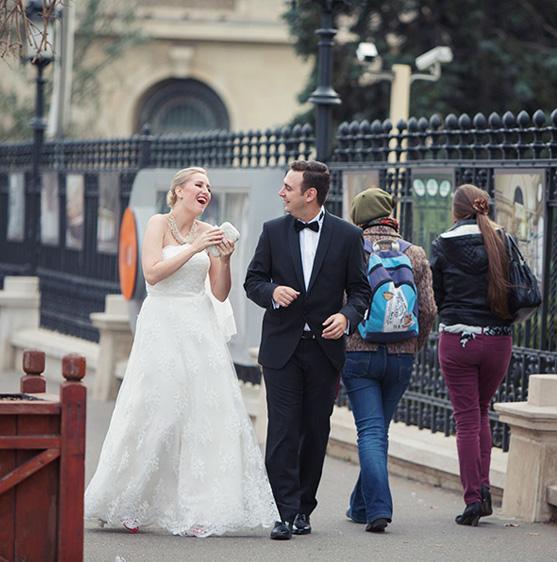 Irina si Adrian - o nunta cu oameni fericiti