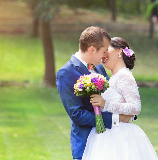 Cununia de anul trecut si nunta din weekend
