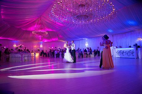 receptie nunta la cort